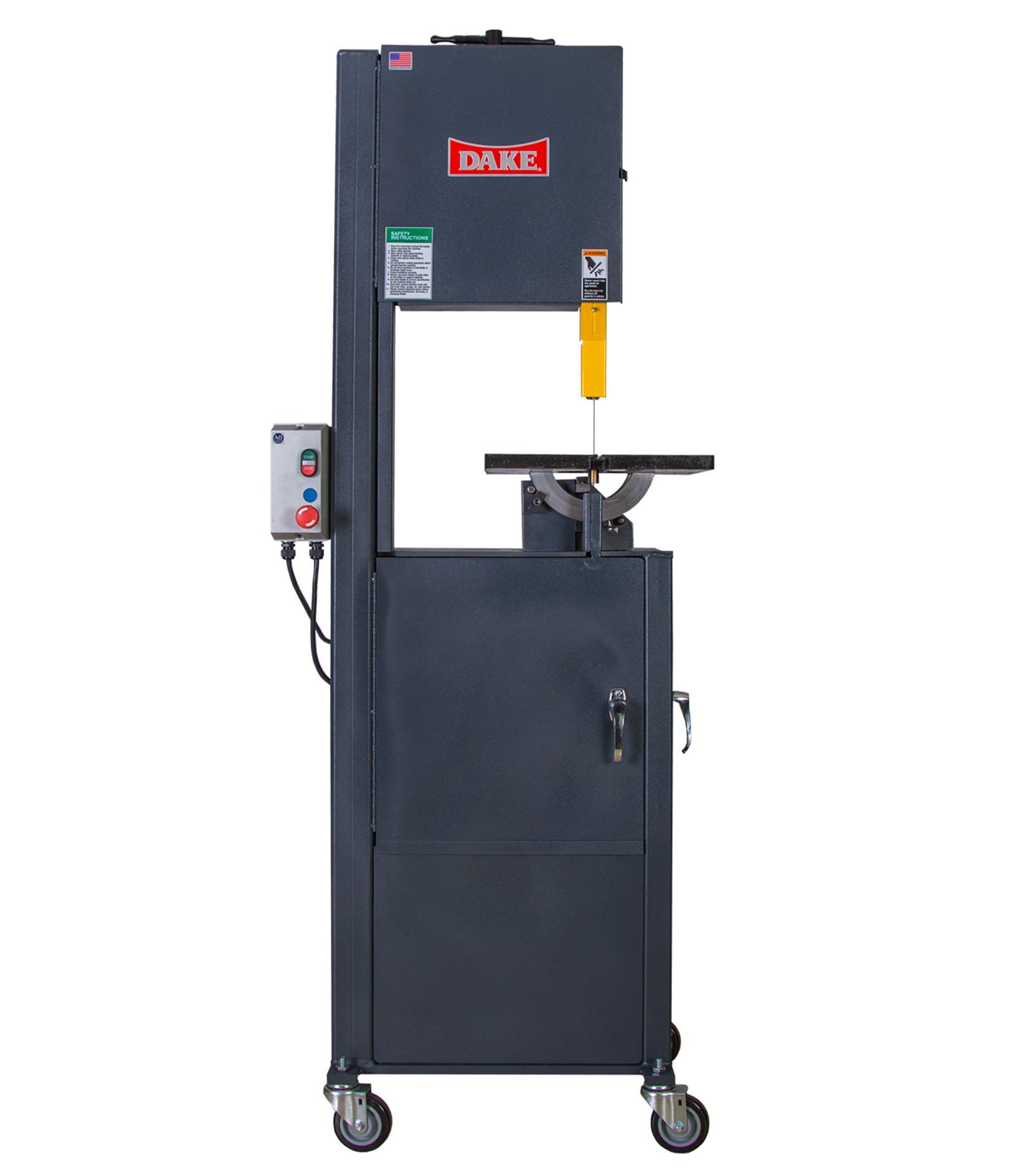 14-10 Vertical Bandsaw | Dake Corp