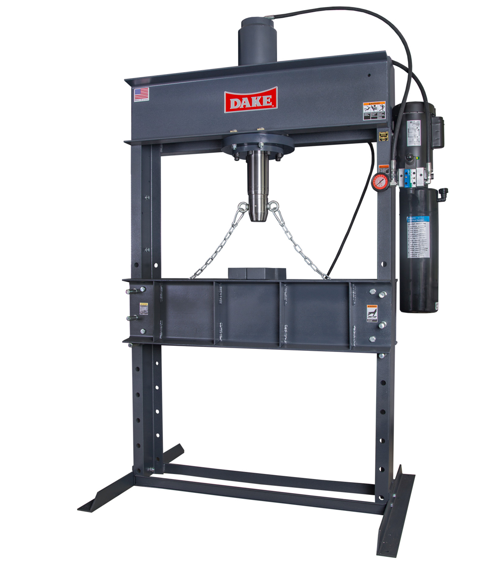 Hydraulic Presses H Frame Presses Shop Presses Dake Corp