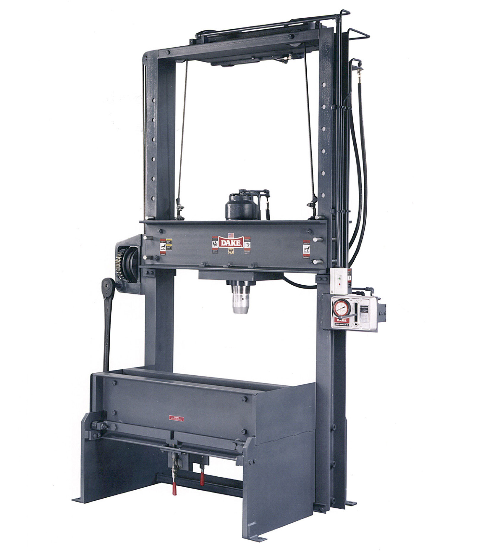 Hydraulic Presses H Frame Shop Dake Corp Press Wiring Diagram Movable Table