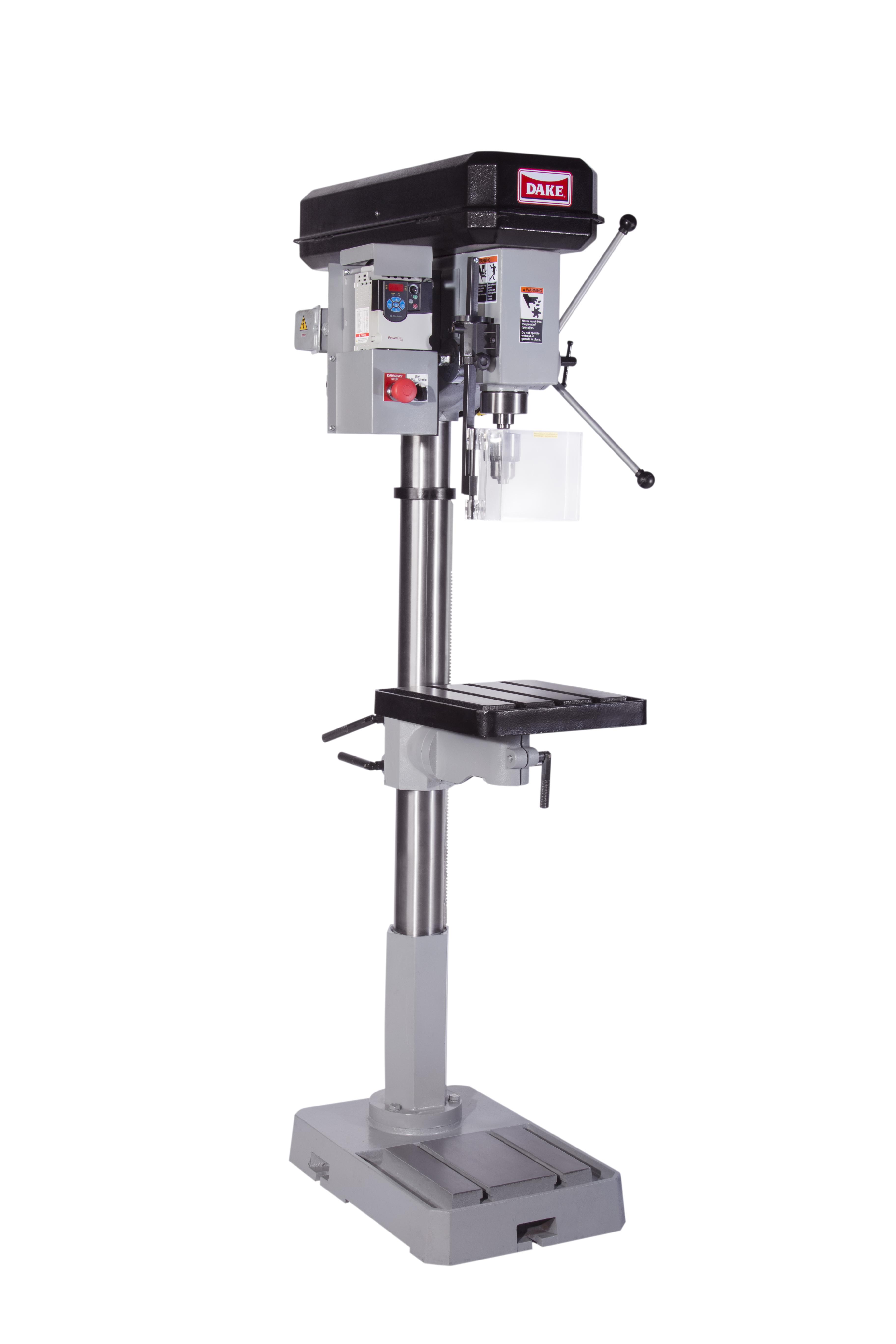 Floor Drill Press Sb 25v Dake Corp