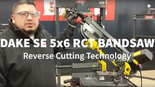 Dake SE 5x6 RCT Benchtop Bandsaw | What does
